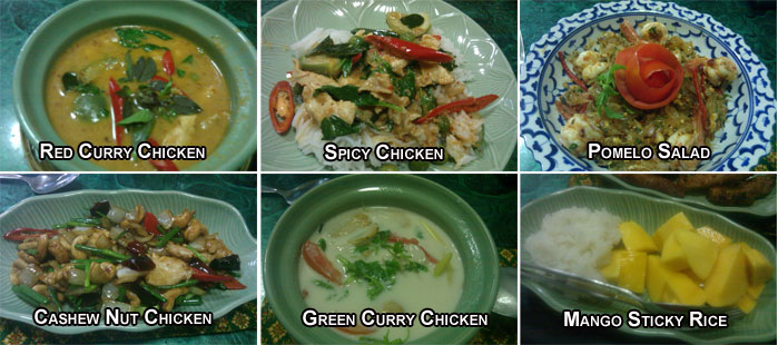Thai Cooking School Results