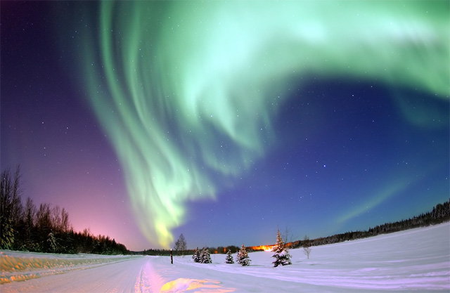 Northwest Passage, Alaska - Northern Lights, Canada