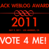 2011 Best Black Travel Blog - Please Vote!!